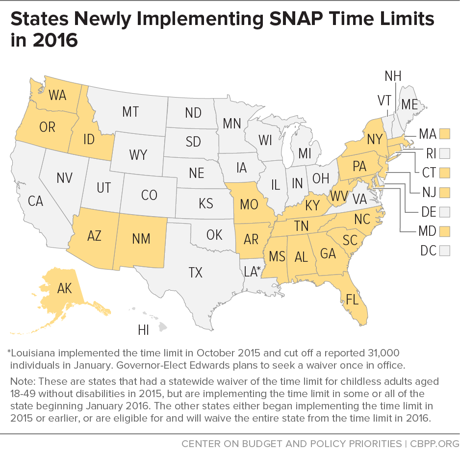 Snap Time Limit Returns Center On Budget And Policy