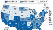 States Face Wide Income Gaps Between Rich and Poor
