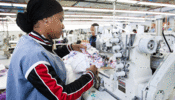 Worker at a Machine