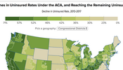 In Focus: Declines in Uninsured Rates Under the ACA, and Reaching the Remaining Uninsured