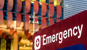 Emergency room exterior