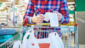 Grocery Cart Receipt