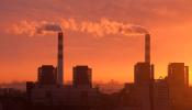 Climate Change - factory smokestack