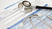 Health Reform - Health Form and Stethoscope