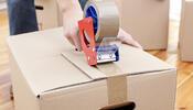 Taping Up Moving Box