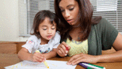 Family Income Support - family coloring