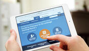 Health Marketplace on an iPad