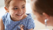 Medicaid and CHIP - child and doctor
