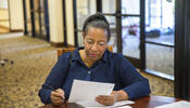 Women filing application