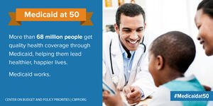 Medicaid at 50: More than 68 million people...