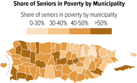 Share of Seniors in Poverty by Municipality