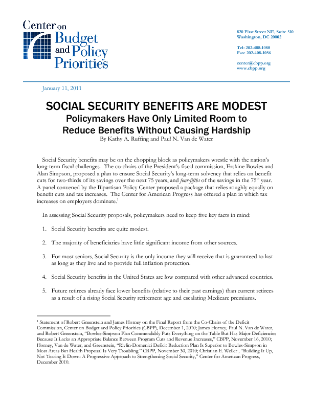 Social Security Disability Insurance Is Vital To Workers With Severe Impairments Center On Budget And Policy Priorities