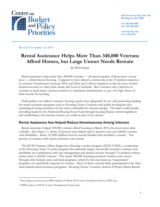 Rental Assistance Helps More Than 340000 Veterans Afford Homes – Rental Assistance Form