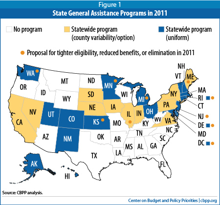 General Assistance Programs: Safety Net Weakening Despite