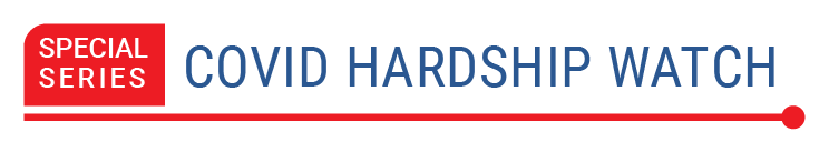 Logo for Special Series: COVID Hardship Watch